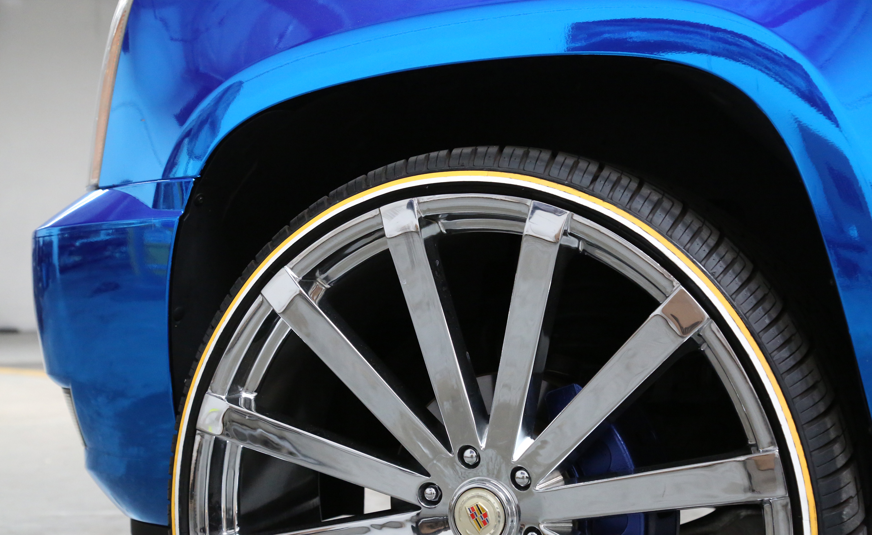 Gold Line White Wall Tire Vogue Combo Kit